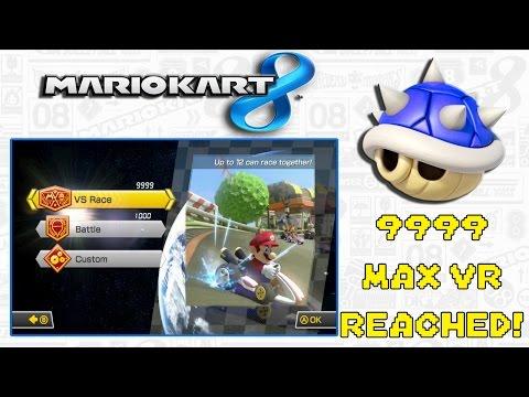 Mario Kart 8 Online Shenanigans (9999 Max VR Reached!)