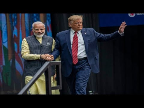 Trump attends Texas rally for Indian Prime Minister Narendra Modi