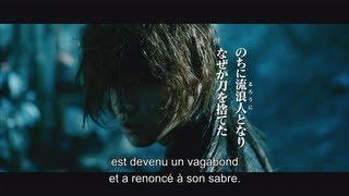 """La bande annonce officielle du film d'action live """"Kenshin Le Vagabond"""" (sous-titres Français)"""