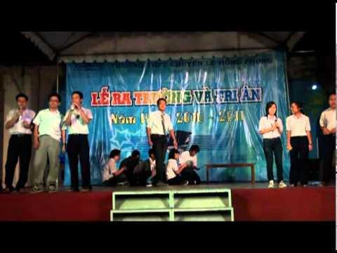 12CL Tình thơ - THPT Chuyên Lê Hồng Phong - LỄ RA TRƯỜNG 08-11