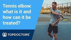 Tennis elbow: what is it and how can it be treated?