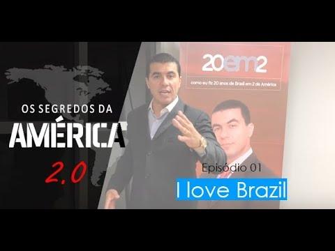 """Nova série """"Os Segredos da América 2.0"""" Episódio 1/15 """"I Love Brazil"""" 🇧🇷"""