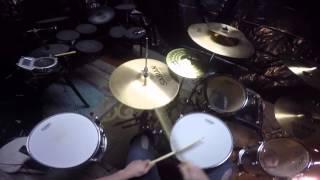 TOOL drum cover Prison Sex (POV) GoPro