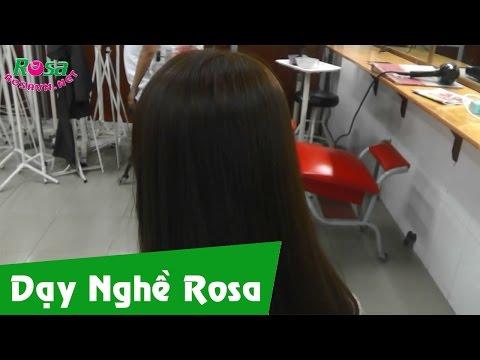 Nhuộm tóc màu nâu sáng - rosavn.net
