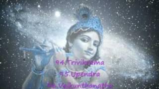 108 Names of Shri Krishna - Sri Krsna Astottara Shatanamavali - VLC/lite