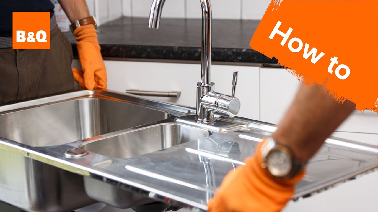 How to replace a kitchen sink part 7: removing your old sink
