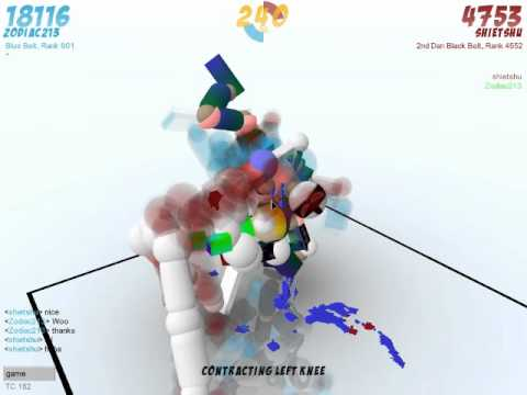 Toribash: Online Random Play-Aikido