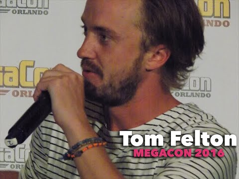 Tom Felton Panel at MegaCon 2016!