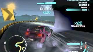 Need for Speed carbon Drift 1,254,382 with Subaru impreza wrx sti