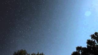Andromeda (constellation) Rising during 2014 Perseid Meteor Shower