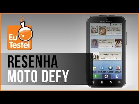 Defy MB525 Motorola Smartphone - Vídeo Resenha EuTestei Brasil