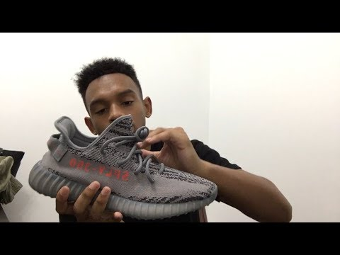 2b9e1addb787 Adidas YEEZY Boost 350 V2 beluga 2.0 unboxing/ review - YouTube