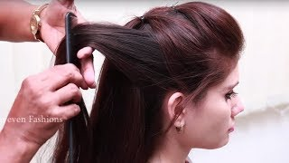 Simple & Beautiful Hairstyle for Long hair ★ Party Hairstyle at Last Minute ★ hair style girl