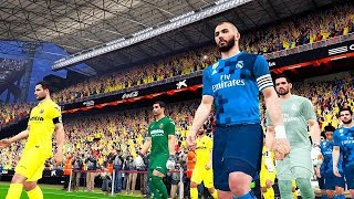 Villarreal vs real madrid | la liga 19 may 2018 gameplay