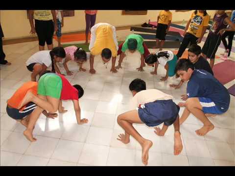 Kids Yoga Camp June 2014