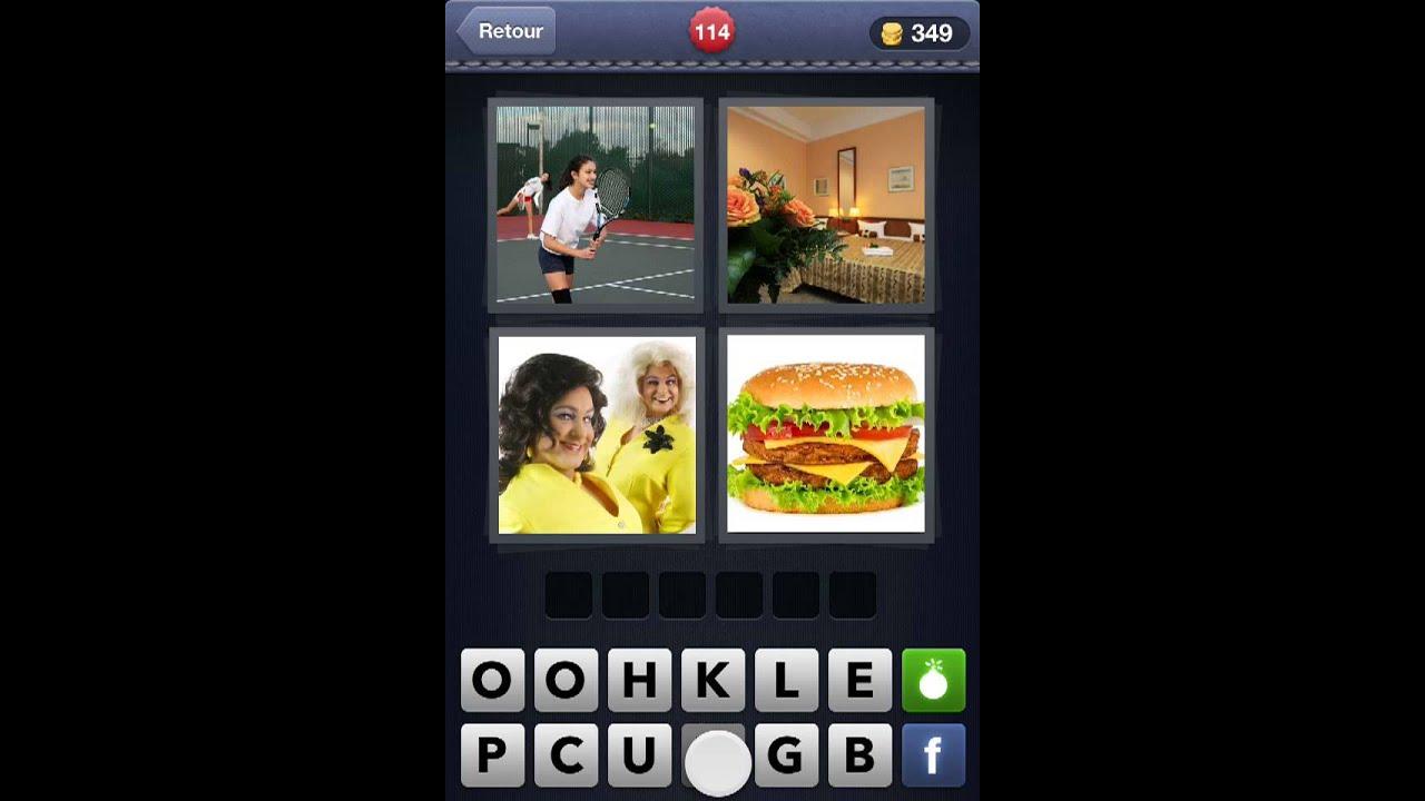 4 images 1 mot solutions niveaux 108 118 youtube for Cuisine 4 images 1 mot