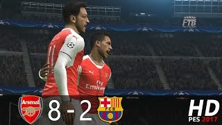 My saturday: arsenal fc vs barcelona (aggregate: 8 - 2) 1st leg: 5 2 | 2nd 3 difficult level: super star. ►thank you for watching! ☛ if e...