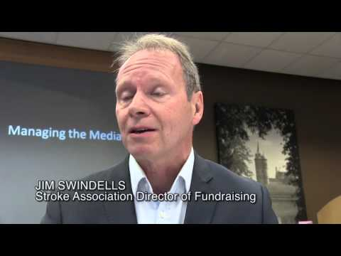 Media training for national charity