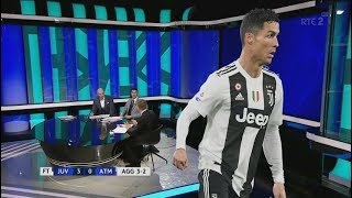 Juventus 3-0 Atletico Madrid (3-2) Post Match Analysis