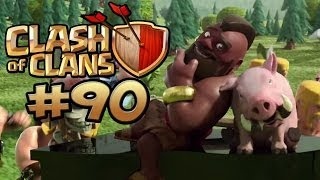 CLASH OF CLANS #90 - 6 STERNE - KEIN DING FÜR DEN KING ★ Let's Play Clash of Clans