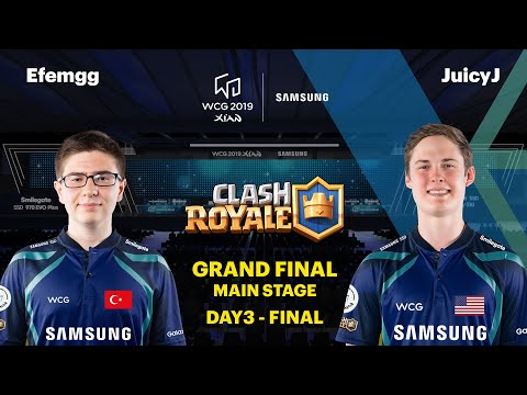 WCG 2019 GF | Clash Royale Final | Efemgg vs JuicyJ
