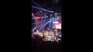 Bruno Mars Locked Out Of Heaven   Orlando, Florida  Amway Center August 27, 2013