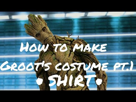 How to make groots costume pt1 shirt youtube how to make groots costume pt1 shirt solutioingenieria Gallery