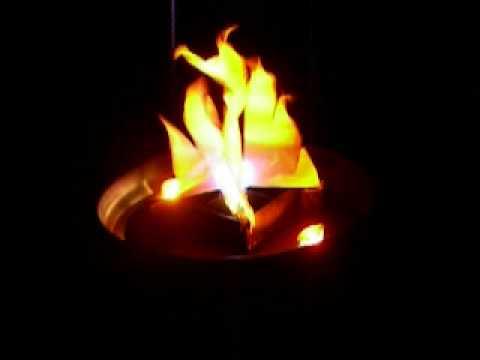 Graef west sl 0103 proyector luz efecto fuego pie youtube - Chimeneas artificiales ...