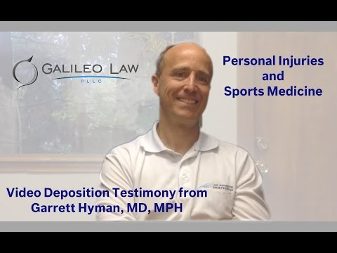Personal Injury: Sports Medicine's Perspective