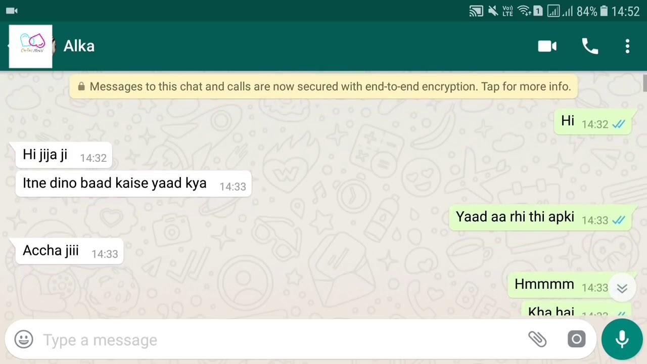 Download Jija 💏 Sali HOT CHAT😘 || Whatsapp chatting
