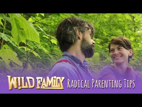 """Allow The Kids To Be Themselves."" - Radical Parenting Tips by Wild Family"