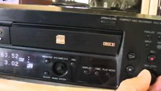 Sony RCD-W500C Compact Disc Recorder