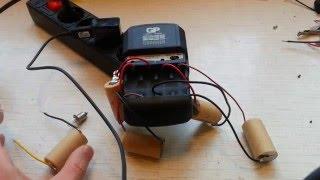 Восстановление Ni-CD аккумуляторов от шуруповерта