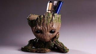 Cheap Pen Holder   Baby Groot Pen Holder