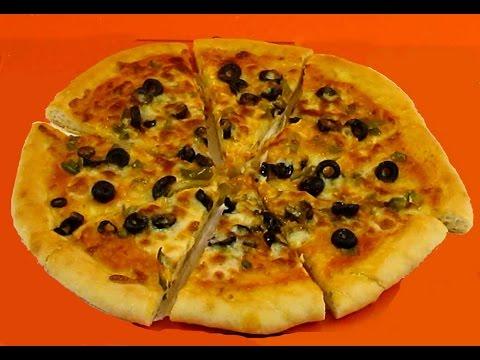 بيتزا رائعة و سهلة بمكونات بسيطة
