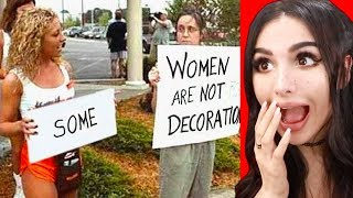 THE FUNNIEST PROTEST SIGNS EVER
