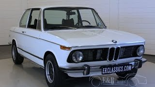 BMW 2002 1974 Chamonix Weiss  - VIDEO - www.ERclassics.com