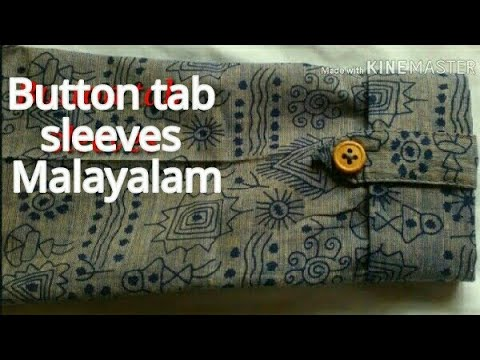Button tab sleeves malayalam