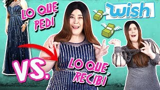 ¡MENUDA ESTAFA! 😩 Lo que PEDI vs Lo que RECIBI en WISH | Haul de ROPA CHINA