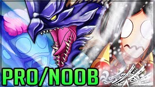 THE WAR ON SHRIEKING - Pro and Noob VS Monster Hunter World Iceborne! #mhw #iceborne #proandnoob