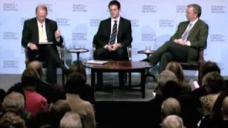 Eric Schmidt and Jared Cohen at the Council on Foreign Relations