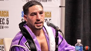 "DANNY GARCIA REACTS TO LOSS TO ERROL SPENCE JR & WHY HE LOST FIGHT ""THE JAB WAS THE KEY!"""