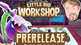 Levande leksaker, dalahästar och annat roligt! - Prerelease - Little BIG Workshop på svenska