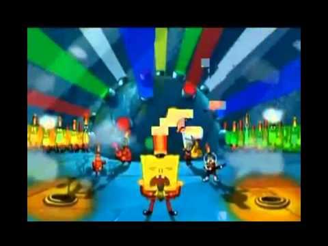 Spongebob Squarepants sings Boom Boom Pow