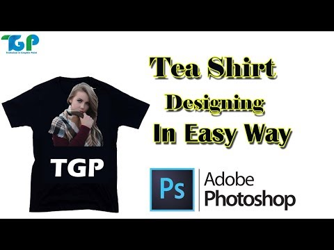How To Design Your First t_Shirt In Photoshop||Photoshop tutorial thumbnail