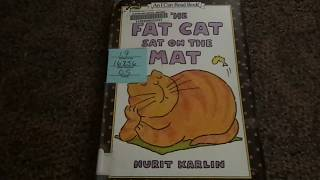 The Fat Cat Sat On The Mat Read Aloud