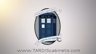 Doctor Who Tardis Bookcase - Not Quite Done