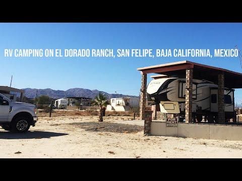 RV Camping On El Dorado Ranch, San Felipe, Baja California, Mexico