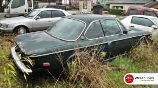 Spotted in Japan: An abandoned 1974 BMW 3.0 CS
