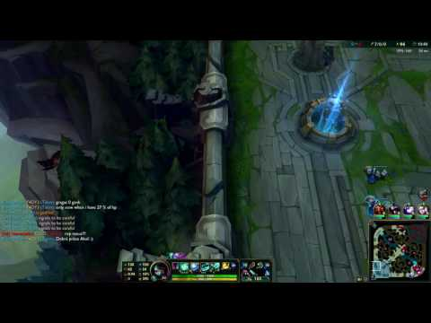 27/0/0 Akali in silver - power of full AP - full game - music